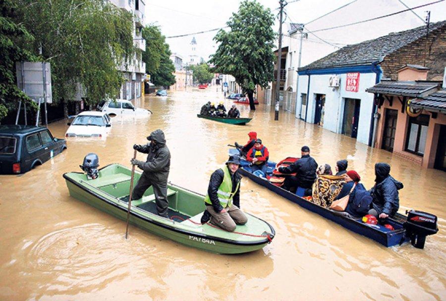 Poplava u Obrenovcu, maj 2014.g.