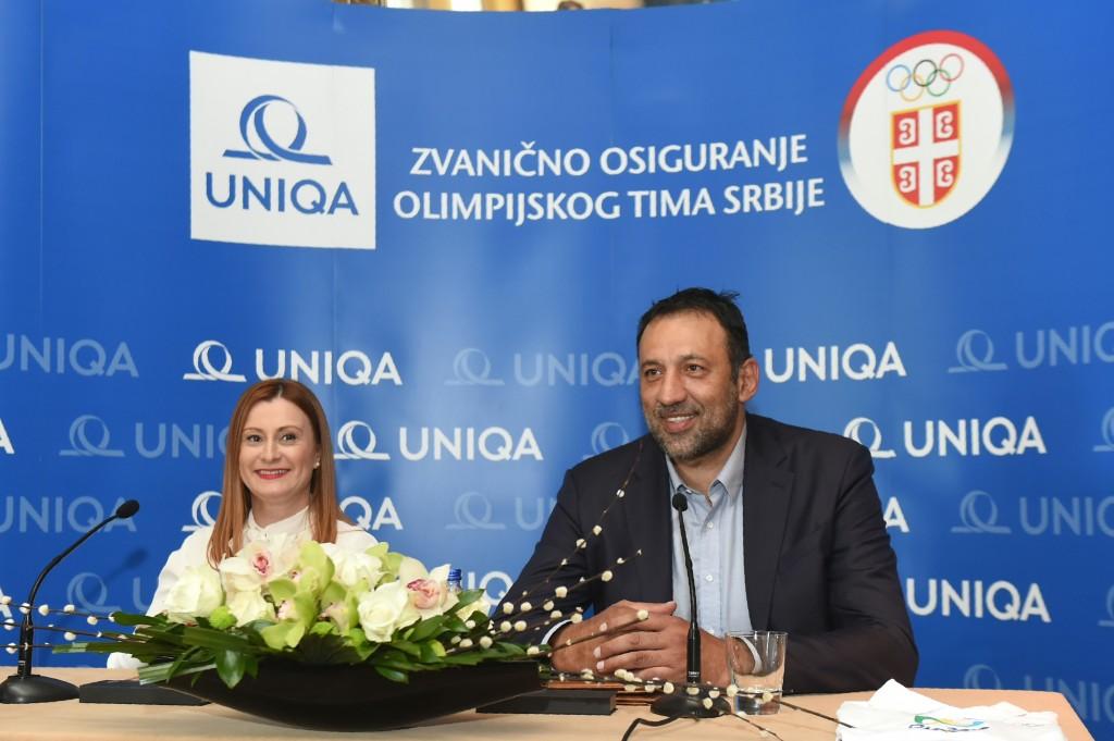 Sonja Marić i Vlade Divac