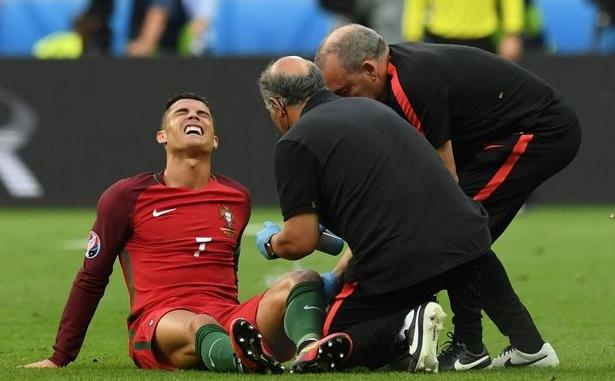 Kristiano Ronaldo povreda